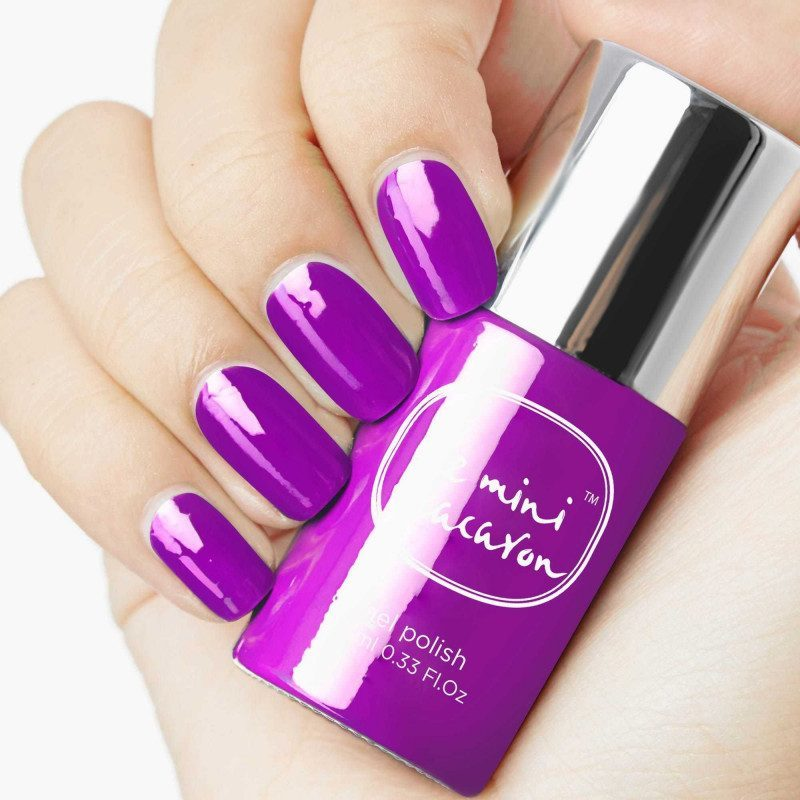 Vernis semi permanent Grape
