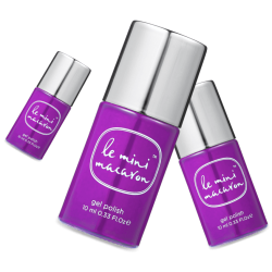 "Vernis semi-permanent ""Grape"""